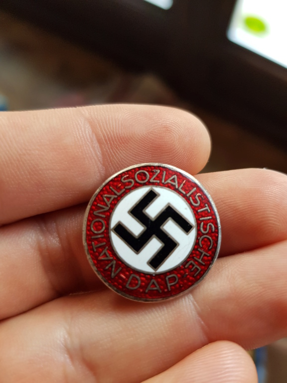 insigne du NSDAP attache boutonnière  20191210