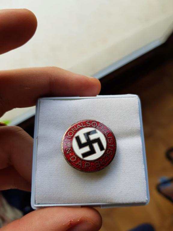 insigne du NSDAP attache boutonnière  20191212