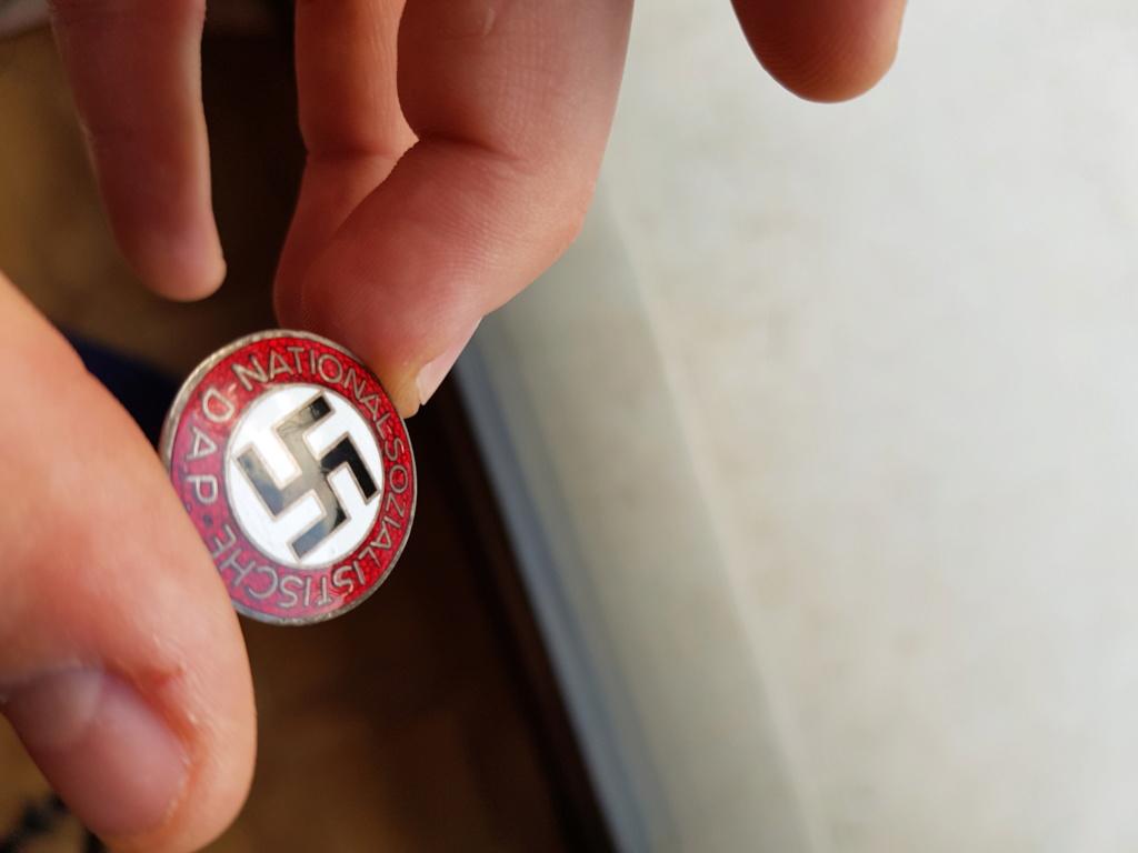 insigne du NSDAP attache boutonnière  20191214