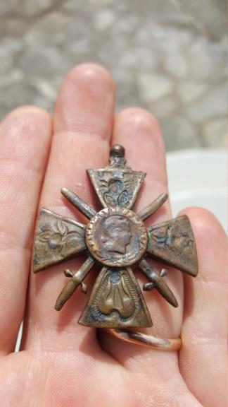 Une croix de guerre des théâtres d'opérations extérieurs très particulière 20200356