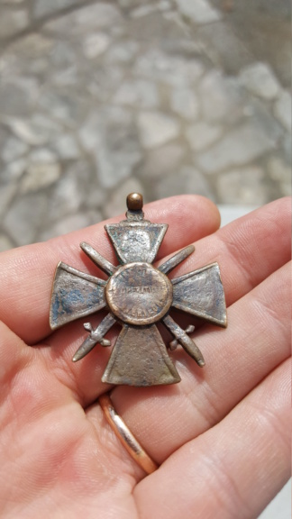 Une croix de guerre des théâtres d'opérations extérieurs très particulière 20200358
