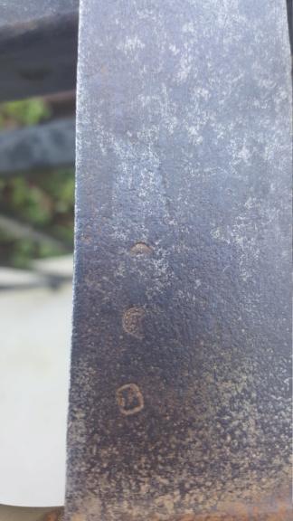 DATATION sabre briquet an XI poinçons 20200517