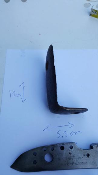 Platines à silex et autres pièces détachées de fusil pour identification 20200748