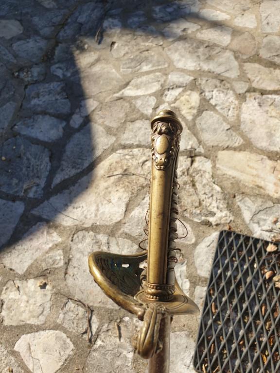 Epée fantaisie d'adjudant chasseur inspiré du sabre des chasseurs de VINCENNES  20201036