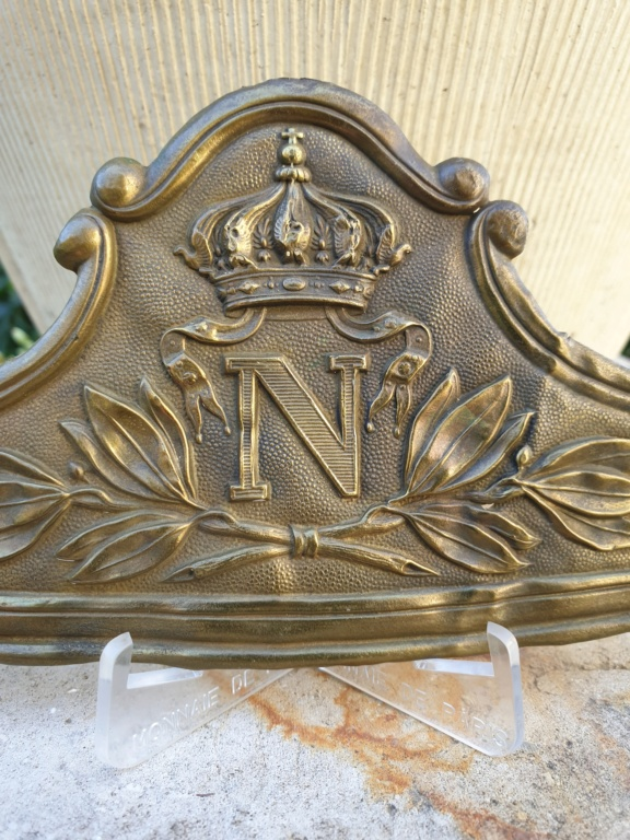 Une plaque de la Garde impériale... à cheval  20210411