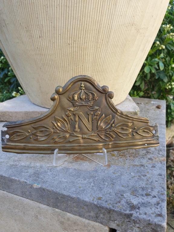 Une plaque de la Garde impériale... à cheval  20210412