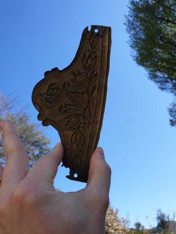 Une plaque de la Garde impériale... à cheval  20210416