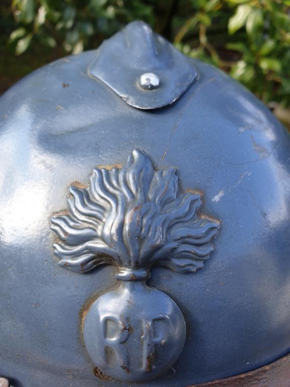 Un bel adrian Japy modèle 1915, vraiment Bleu Horizon ! 20210436