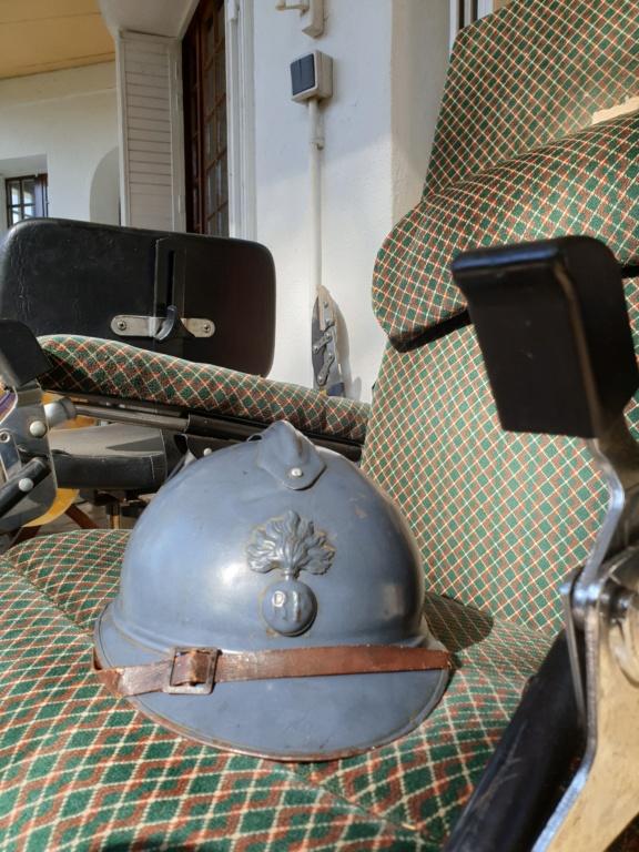 Un bel adrian Japy modèle 1915, vraiment Bleu Horizon ! 20210437