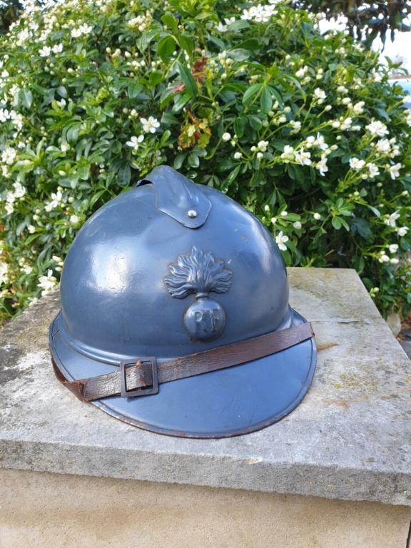Un bel adrian Japy modèle 1915, vraiment Bleu Horizon ! 20210440