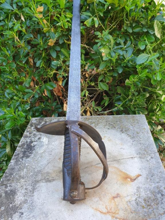 Un beau sabre de cavalerie Sarde à identifier... VIVE LE ROY DE SARDAIGNE ! 20210714