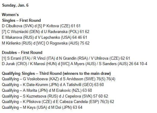 WTA SYDNEY 2013 : infos, photos et vidéos  - Page 2 Captur48
