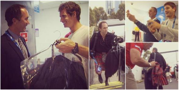 OPEN D'AUSTRALIE 2013 : les photos et vidéos  - Page 9 Murray12