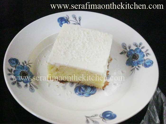 Ревани. Турецкий пирог с молочным кремом Cf_610
