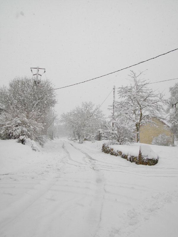 la neige  Montan11