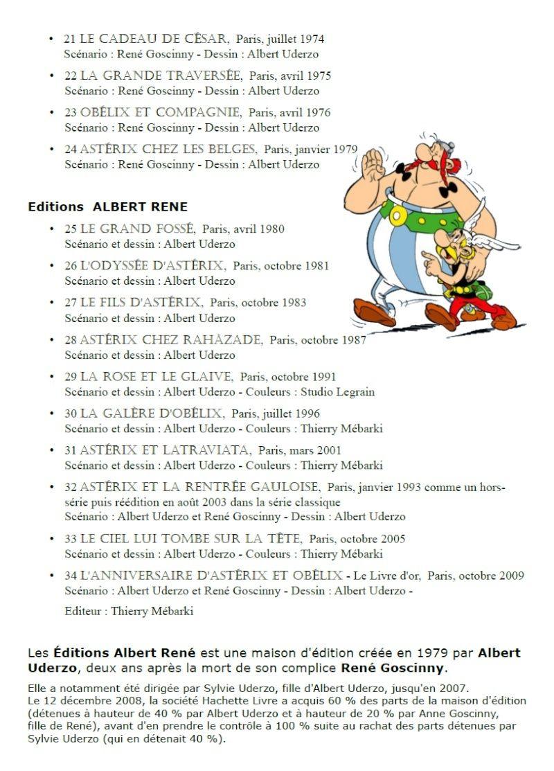 Les albums d'Astérix le Gaulois Asteri13