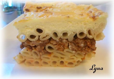 Pastitsio ou Pasticcio Pastit14
