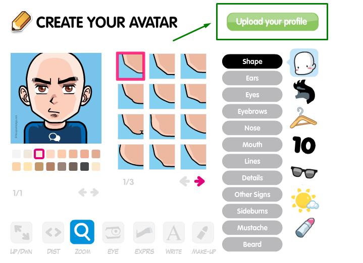 Crea tu avatar personalizado Descar10