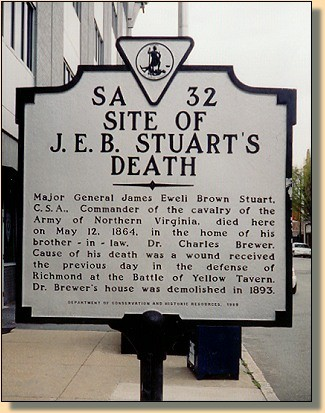 Le général JEB Stuart 1110
