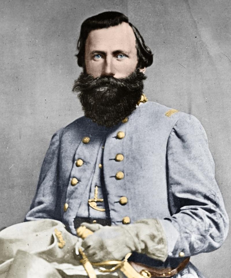 Le général JEB Stuart Csa-ca10