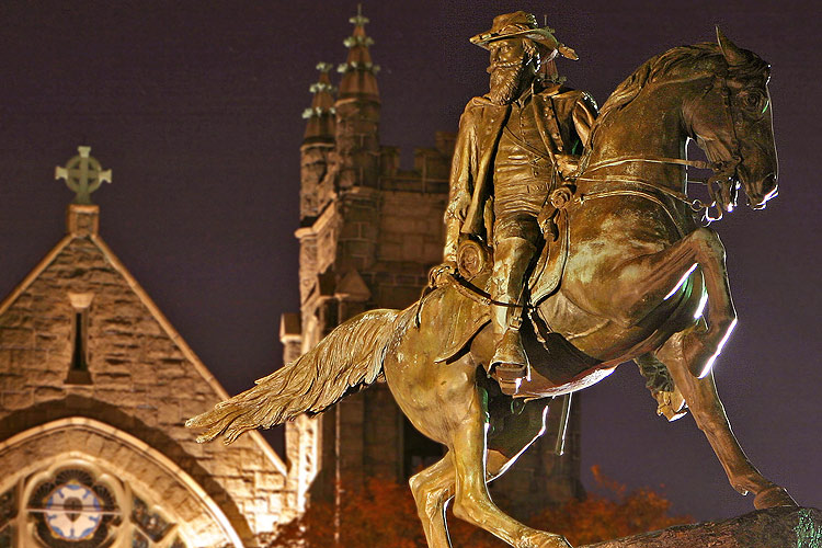 Le général JEB Stuart Statue10