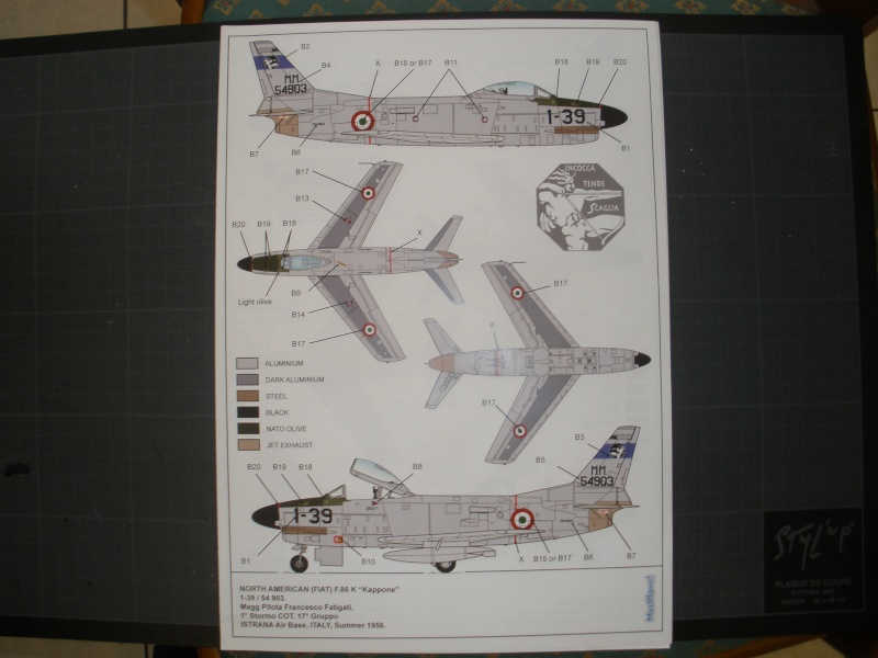 Revue de kit NORTH AMERICAN F-86K MustHave! 1/48 P1070123