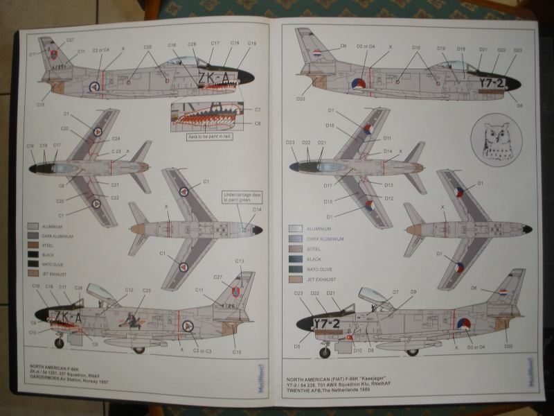 Revue de kit NORTH AMERICAN F-86K MustHave! 1/48 P1070124