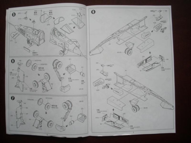Revue de kit SEPECAT Jaguar-A 1/48 KittyHawk P1160213