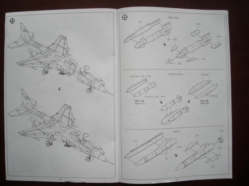 Revue de kit SEPECAT Jaguar-A 1/48 KittyHawk P1160217