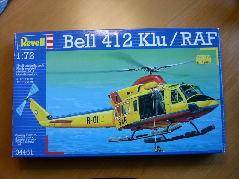 SAR Helikopter Bell 412 der Koninklijke Luchtmacht Niederlande mit Sonderbauten Bild_016