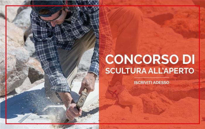 Aperte le iscrizioni alla XX edizione di ScoglieraViva, premio internazionale di scultura all'aperto Banner10