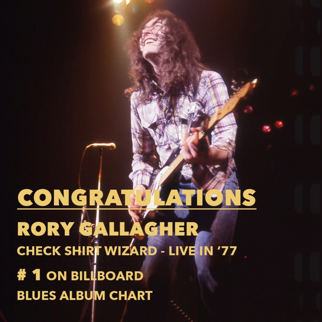 Check Shirt Wizard - Live in '77 (2020) - Page 2 Congra10