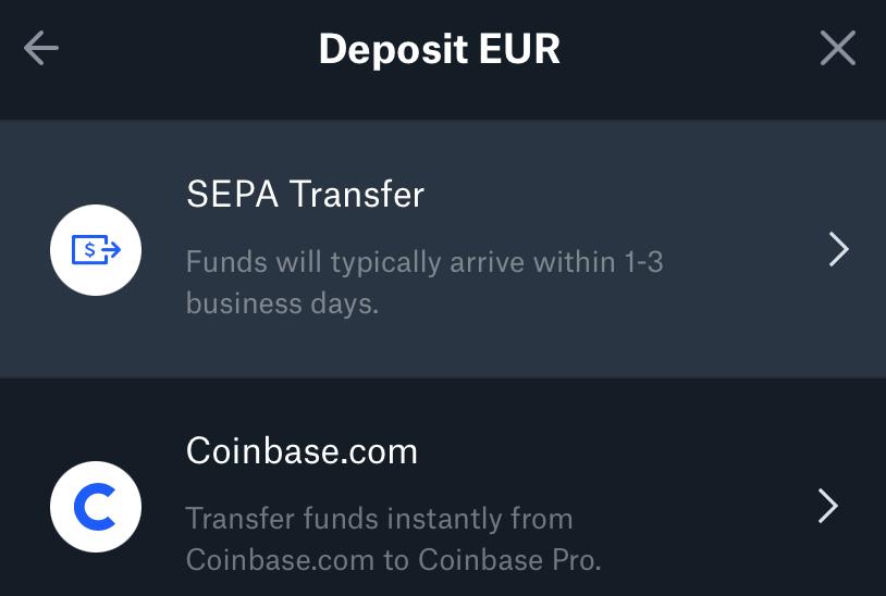 Coinbase Pro kaudu krüptoraha ostmine (odavam) Screen25