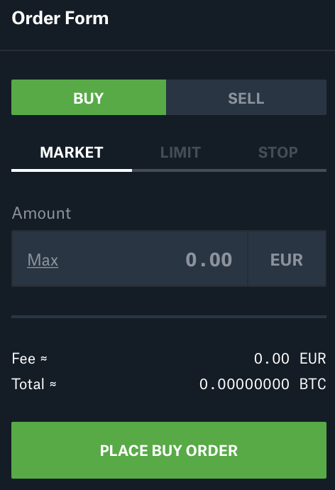 Coinbase Pro kaudu krüptoraha ostmine (odavam) Screen29