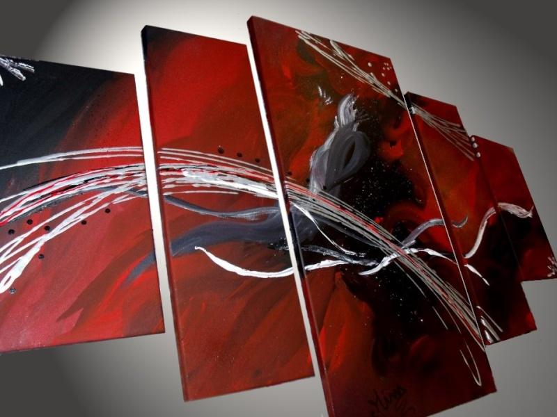 dernieres creations tableaux abstrait xxl Yablea10
