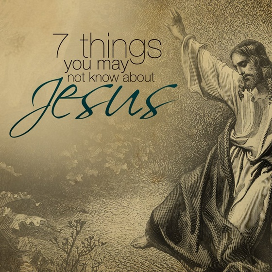 Seven Things You May Not Know About Jesus 53259011