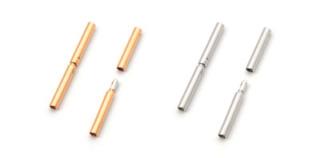 Cherche fermoir pour câble ou tige, du plus petit diamètre possible. Bayone10