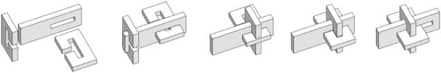 Exercice de bijouterie sans aucune brasure ! Cube510