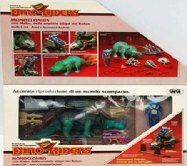 Dino Riders (Tyco) Monocl10