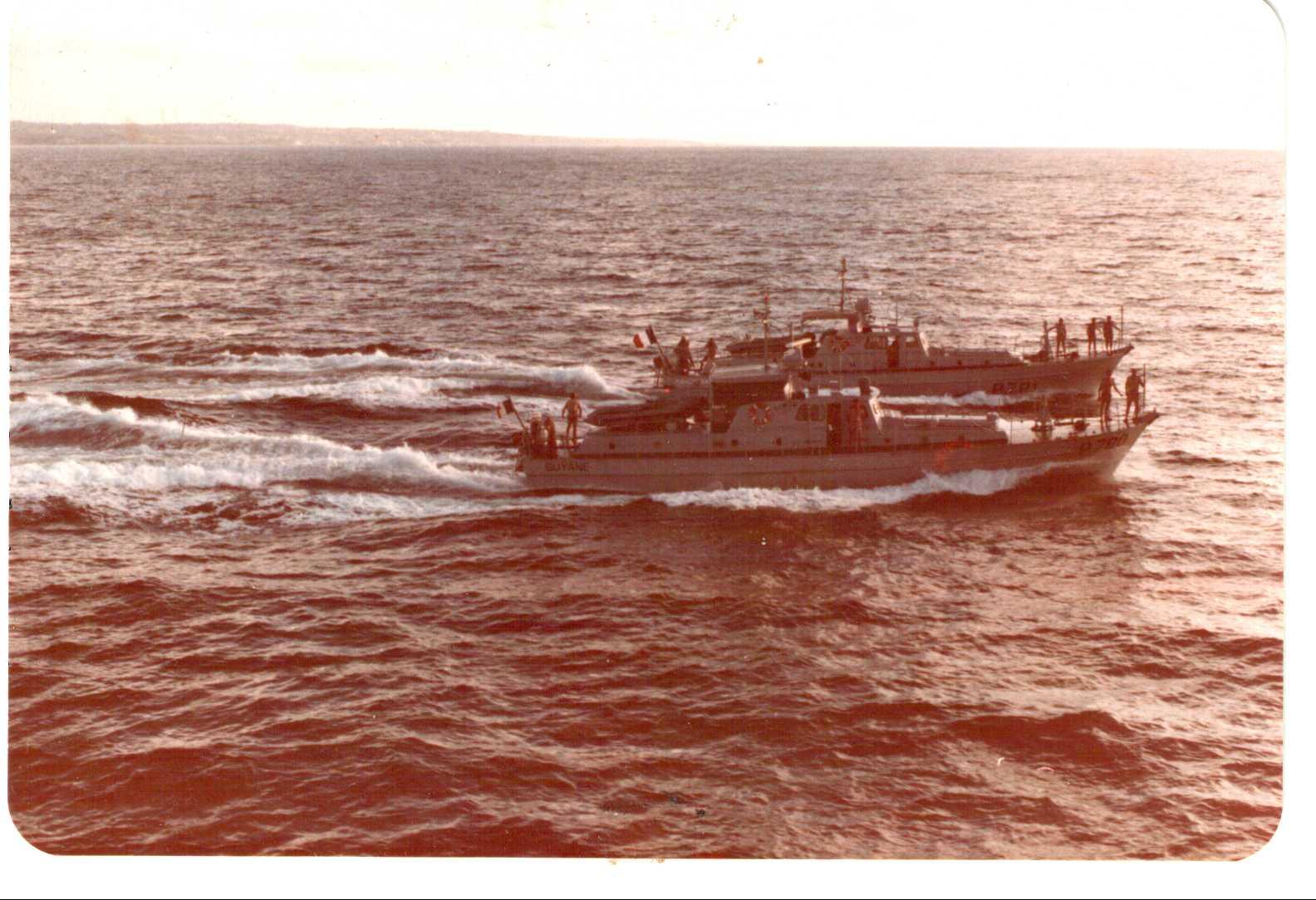 [ Divers Gendarmerie Maritime ] De Guyane aux Antilles - Transit P781 Scan_211