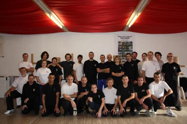 Stage de mannequin de bois (Wing Chun) à Mazamet avec Cédric Azémat Groupe11