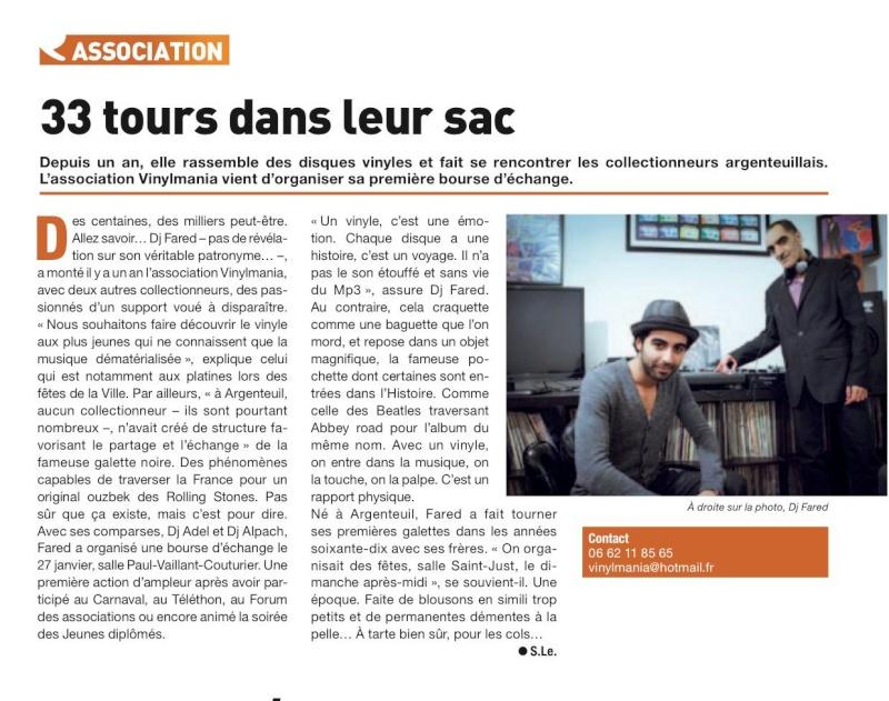 Convention à Argenteuil le 27 Janvier  82064910
