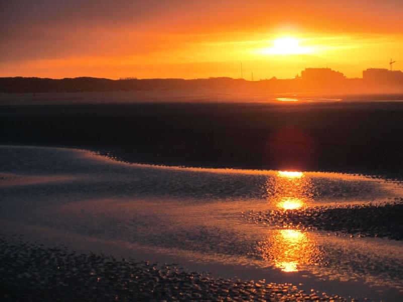 Couché de soleil à la mer Img_1711