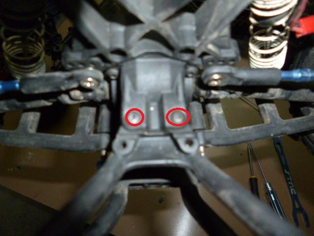 Slash/Stampede 4x4 - Tuto demontage diff arrière P1000321