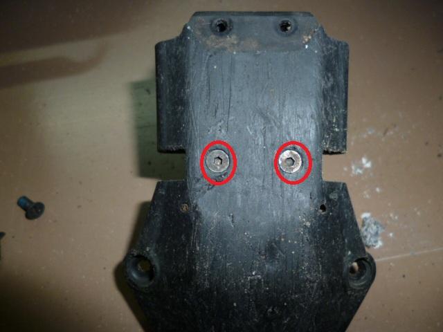 Slash/Stampede 4x4 - Tuto demontage diff arrière P1000325