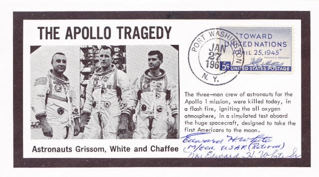 Philatélie Spatiale - 27 janvier 1967 - Apollo 1 1967_015