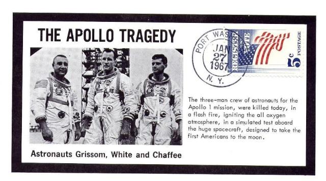 Philatélie Spatiale - 27 janvier 1967 - Apollo 1 1967_016