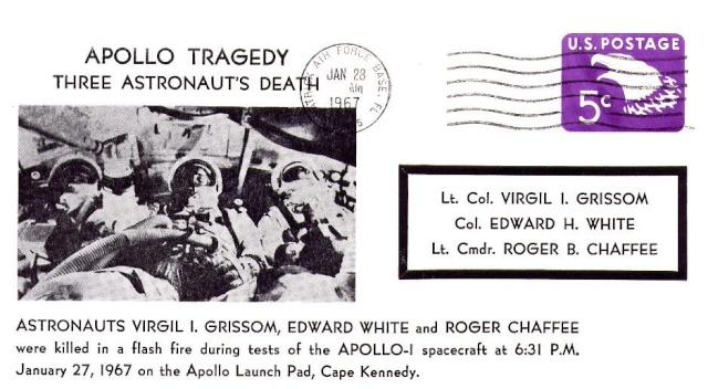 Philatélie Spatiale - 27 janvier 1967 - Apollo 1 1967_017