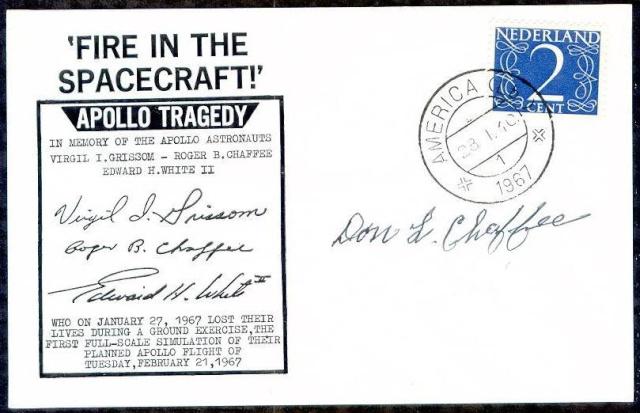 Philatélie Spatiale - 27 janvier 1967 - Apollo 1 1967_018