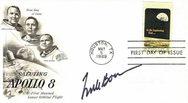 Philatélie Spatiale USA - 1969 - Apollo 8 1969_010